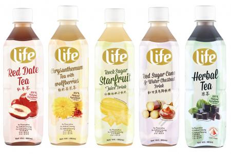 Quench your thirst, beat the heat with FairPrice's Life Asian Drinks