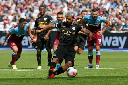 Man City off to a flying start, thanks to Sterling's hat-trick