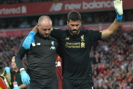 Alisson injury mars Liverpool's opening victory