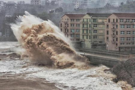 China typhoon kills 44