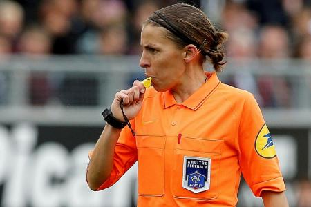 Stephanie Frappart is European Super Cup's first female referee