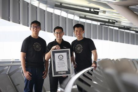 SP team sets new Guinness World Record