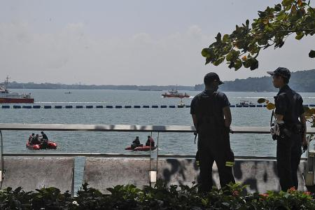 Missing man's body found a day after he fell into the sea at Punggol