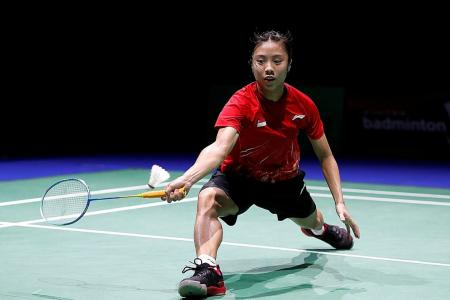 S'pore's Yeo Jia Min stuns world No. 1 Akane Yamaguchi at world c'ship