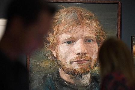 English town celebrates hometown hero Ed Sheeran with exhibition