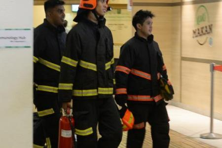 70 evacuated from SGH after fire breaks out