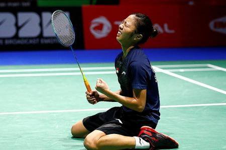 History made as Yeo Jia Min reaches World Championship quarter-finals
