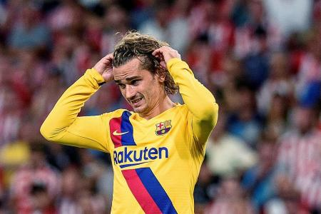 Barcelona's injury woes place extra pressure on Antoine Griezmann