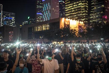 HK university students plan boycott as high school students rally