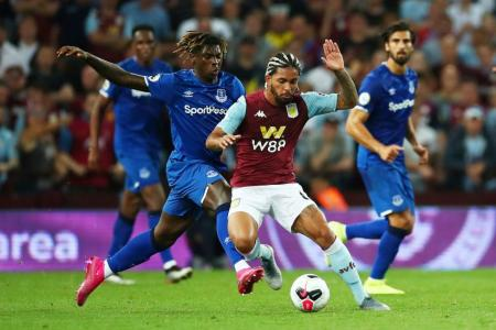Villa earn first points of EPL season by defeating Everton