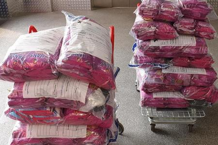 $42,000 worth of chewing tobacco seized in largest operation here