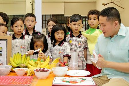 Fruity Friday helping kids learn about healthy lifestyle habits