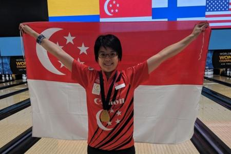 Bowler Cherie Tan wins gold at Women's World Championships