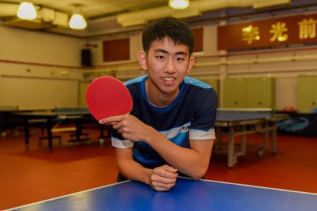 Koen Pang attains world No. 1 ranking for Under-18 paddlers