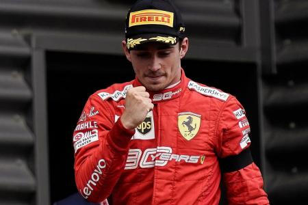 Charles Leclerc dedicates his first F1 win to friend who died in crash