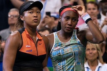 World reacts to Osaka's shared interview with Gauff
