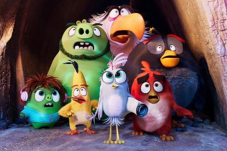 Movie reviews: The Angry Birds Movie 2, The Bravest