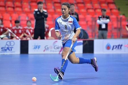 National floorballer Siti Nurhaliza joins Czech champions Vitkovice