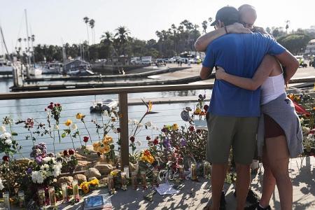 Singaporean feared killed in blaze on California dive ship