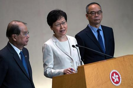 HK leader: China respects and supports withdrawal of extradition Bill