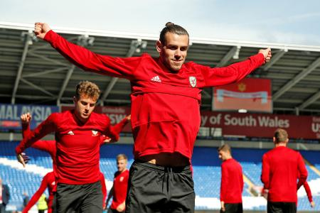 Gareth Bale raring to go for Wales