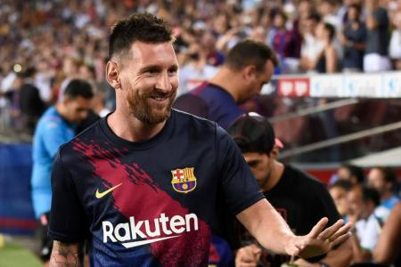 Messi can leave at end of season, but Barca not worried
