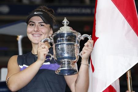 Teen champion Bianca Andreescu goes from misery to victory in a year
