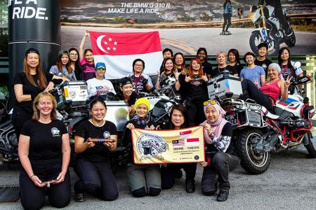 Women Riders World Relay shows female bikers can go the distance