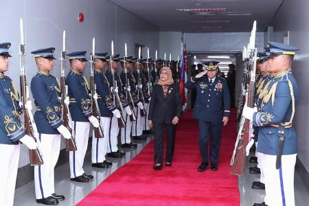 President Halimah begins five-day visit to the Philippines