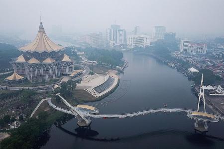 Schools close in Sarawak, Jambi as haze tightens grip