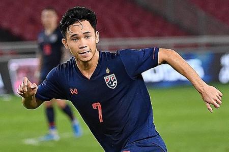 Supachok Sarachat stars as Thailand swat aside Indonesia 3-0