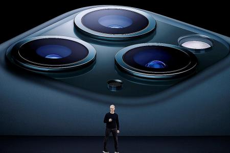 Apple reveals triple-camera iPhone, $7 monthly streaming service