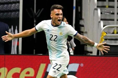 Lautaro Martinez bags hat-trick as Argentina hammer Mexico