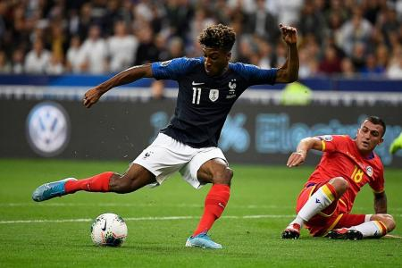 Kingsley Coman helps France to easy victory
