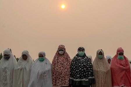 Indonesia accuses Malaysia of haze cover-up