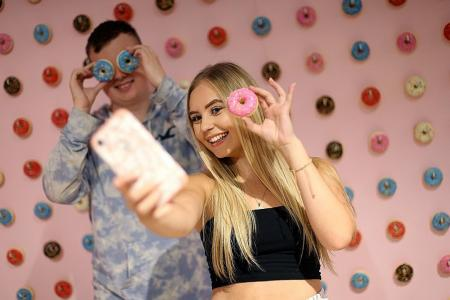 Strike a pose at London's Selfie Factory