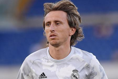 Luka Modric the latest addition to injury crisis at Real Madrid