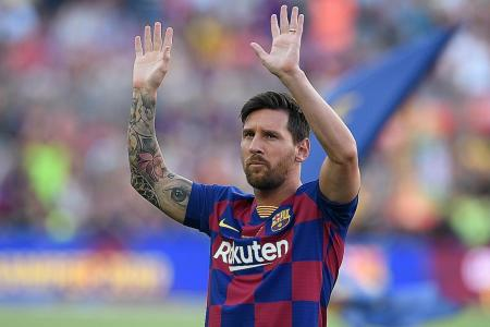 Lionel Messi: I want to stay at Barcelona but...