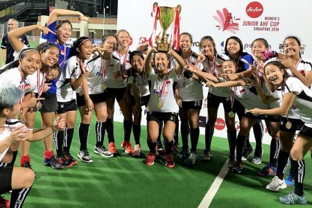 Singapore win Women's Junior Asian Hockey Federation Cup
