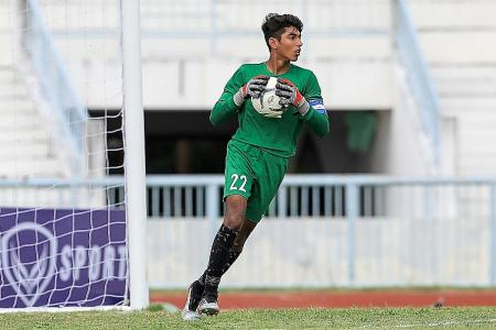 Singapore U-16 goalkeeper Karan set for second trial with Cardiff City