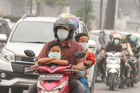 Indonesia arrests 185 over haze-causing forest fires