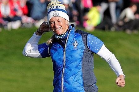 Suzann Pettersen is Europe's heroine in 14.5-13.5 win over the US