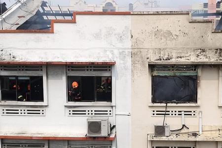 Geylang shophouse units involved in fire were overcrowded: MOM
