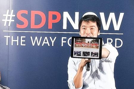 SDP gears up for GE with pre-election rally at Hong Lim Park