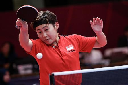 Singapore's women paddlers clinch bronze at Asian Championships