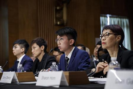 HK activists turn to US Congress for help
