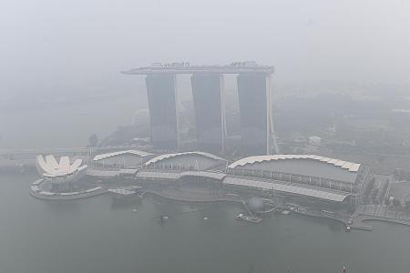 Haze in S'pore expected to worsen