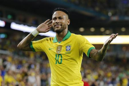 Neymar in Brazil squad for friendlies in Singapore