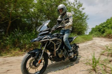 Catch shades of legendary bikes in China-made Zontes T310