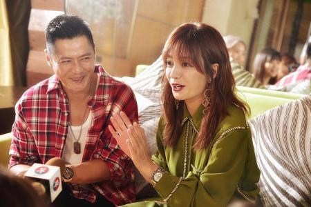 Vicki Zhao has been a fan of Li Nanxing since her primary school days